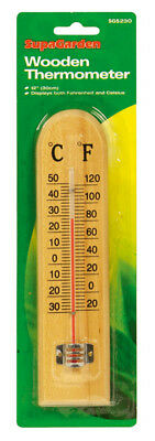 SupaGarden Wooden Thermometer12'' (30cm)