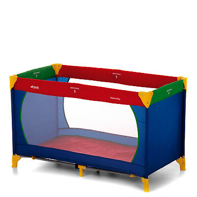 New Hauck Multi Colour Dream And Play Baby Travel Cot Play Pen From Birth