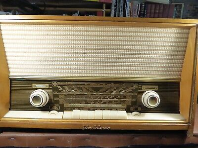 Fully Restored Schaub Lorenz Phonosuper  Valve Radio & Record Player With Mp3