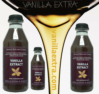 Madagascar Bourbon Vanilla Extract - 500ml - Pure Original Distinct Floral Aroma