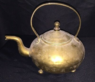 Brass Antique Teapot Kettle