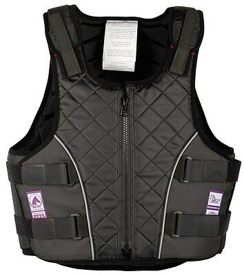 Harry's Horse Sicherheits-Reitweste Bodyprotector 4Safe Senior schwarz EN 13158