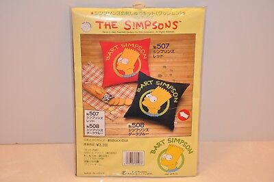 "RARE 1992 The SIMPSONS- BART SIMPSON ""NEEDLE POINT KIT"" made in JAPAN"