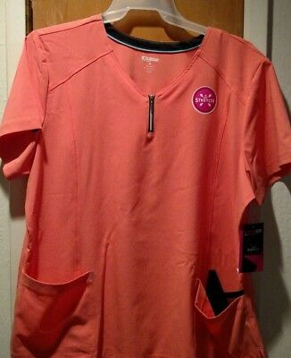 SCRUBSTAR V-neck Scrubs Top - Size 2X ~ Woman's New with Tag
