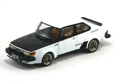 """Griffin Models - Saab 900 Enduro """"Steroid Poppin' Swede"""" resin kit in scale 1/43"""