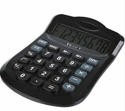 Texet Dual Powered Pocket Calculator Solar & Battery Powered Home Office