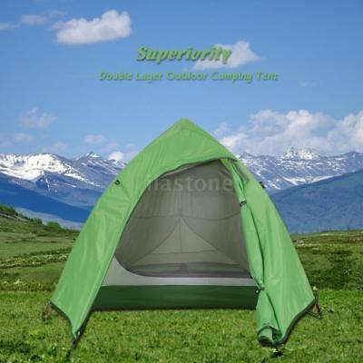 Naturehike Double Layer 1-2 Person 3 Season Skylight Outdoor Camping Tent Z0N8