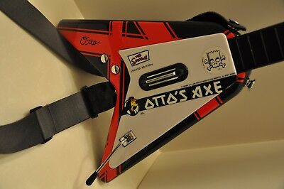 "RARE PS2- 2007 The SIMPSONS ""OTTO's AXE"" GUITAR HERO CONTROLLER LTD ED."