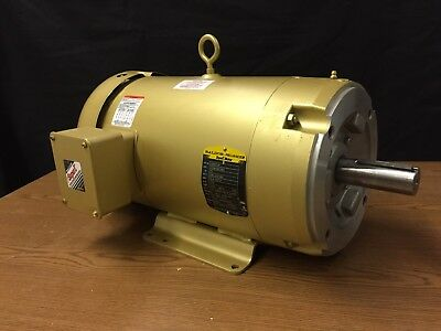 Baldor Electric Motor CEM3714T, 10HP, 1770RPM, 208-230/460