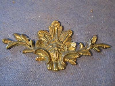 Old decorative cast brass fitting.