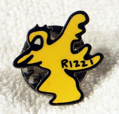 "James Rizzi ""Love Bird PIN"" mit Rizzisignatur! A Must Have für jeden Rizzifan!"