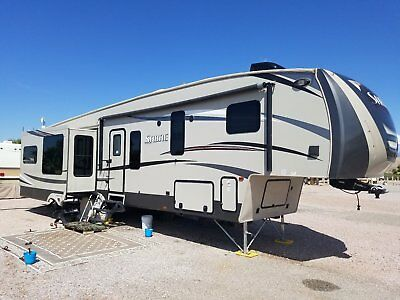 2016 Palomino Sabre 36 KSTB Platinum Edition  Fifth Wheel RV Loaded