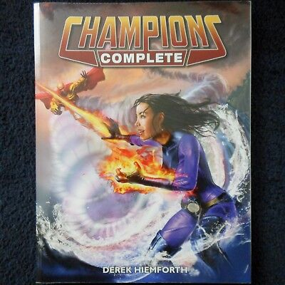 Champions Complete Super Hero System Roleplaying Adventure Superhero Rule Book
