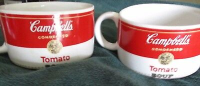 2---Campbell's Soup Condensed Tomato Soup Mug/Cup 1994 By Westwood