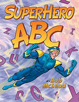 Superhero ABC by McLeod, Bob Book The Cheap Fast Free Post