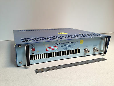 Solid State Amplifier/ Lab Series 510-10C, 10 Watts, 500 - 1000 MHz Mfg MPD