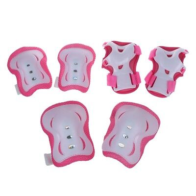 Children Knee Palm Elbow Protective Support Pad Pink D4E9