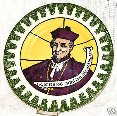 1933? Royal Doulton Seriesware PLATE PRIEST & BLESSING