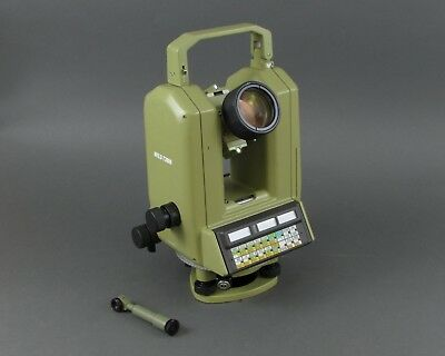 Wild / Leica T3000 Theodolite Total Survey Station w/ Case & Straps FOR PARTS