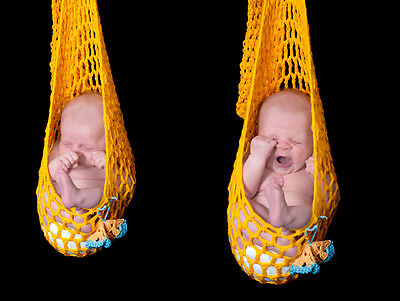 Newborn baby stork pouch photography photo prop CHOOSE THE COLOUR