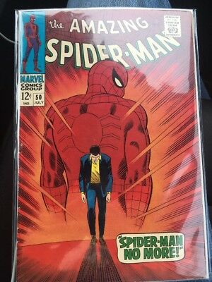THE AMAZING SPIDER-MAN  #50 (First Appearance of Kingpin) Great Condition