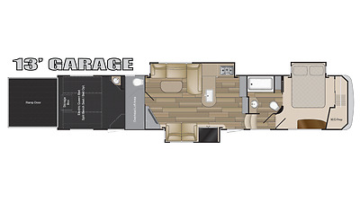 2018 Heartland Road Warrior RW429 5th Wheel Toy Hauler RV SAVE 25,000 TODAY
