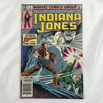 MARVEL: The Further Adventures of Indiana Jones Volume #5 Comic Book May 1983