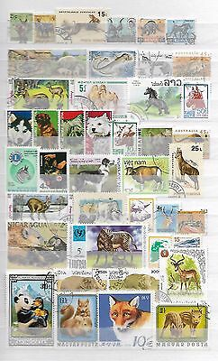 Superior Animals + Living Things Wildlife Dogs Stamps Thematics Topical 5070717