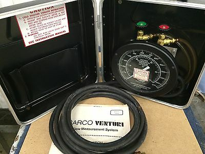 Barco Portable Master Meter  Venturi And Water Flow Metering