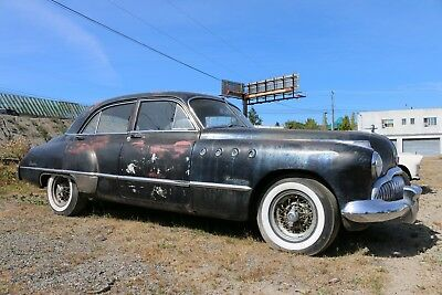 1949 Buick Roadmaster  1949 Buick Roadmaster Eight Dynaflow