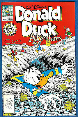 DONALD DUCK ADVENTURES # 1 (Disney Comics 1990)  (vf-nm)