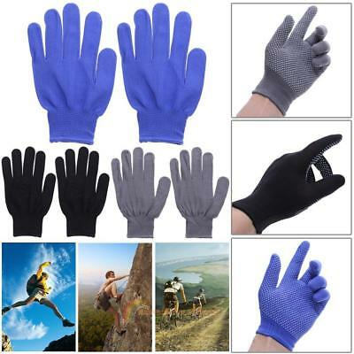 1Pair Sports Full Finger Gloves Climbing Camping Cycling Antiskid Gloves Outdoor
