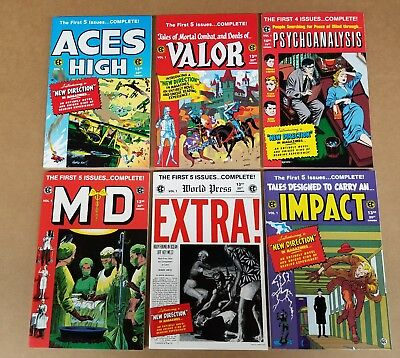 EC's Aces High, Valor, M.D., Psychoanalysis, Impact and Extra!