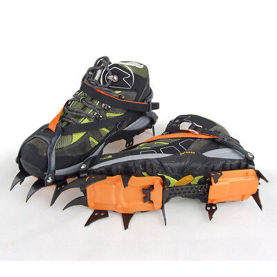 12 twelve point crampons Ski climbing Shoe Bandage Type resistant Snow ice Adult