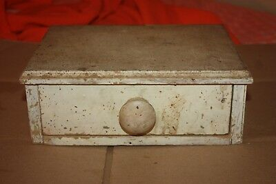 Orig Antq Drawer/Mini Cabinet-Old Paint/Shabby Nice One