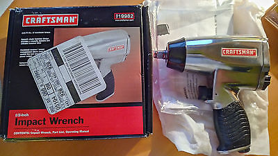 "Craftsman 1/2"" Air Impact Wrench 340 Ft/lbs 919982 - NEW"