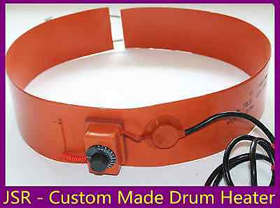 1200 mm x 150 mm 220 V 250 W Tank Drum Band Heater with adjust Control Barrel