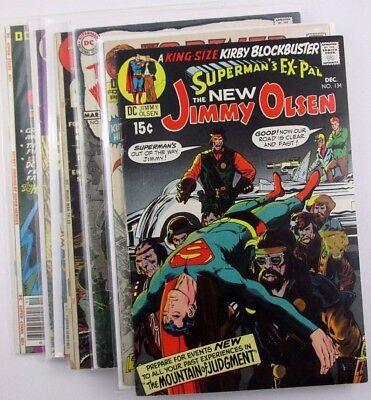 DC Silver Age Key Issues Lot of 7 Comics