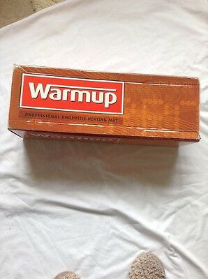 WARMUP UNDERTILE HEATING MAT. 0.5X14.0 Metres. Never Used