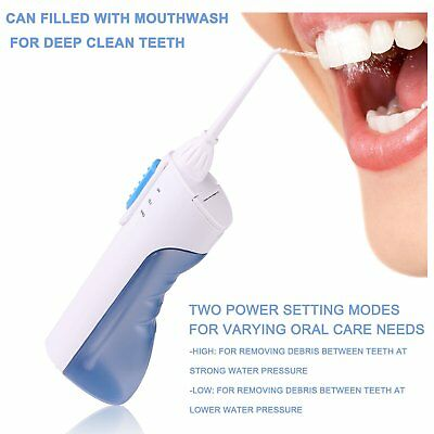WATER Water Jet Oral Dental Care Tooth Teeth Cleaner Designed for the British