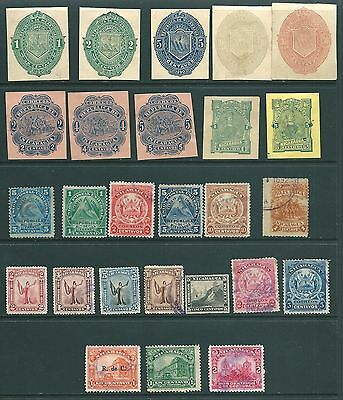 NICARAGUA - Vintage collection of stamps from the 19th Century onwards