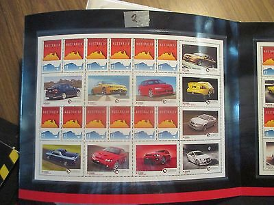 No--2-- 2017  HSV  30 YEARS  OF  HIGH PERFORMANCE  VEHICLES  --SHEET-LET  -MINT