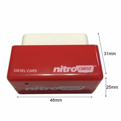 OBD2 Plug&Drive Nitro Performance Chip Tuning interface Box for Diesel Cars HM