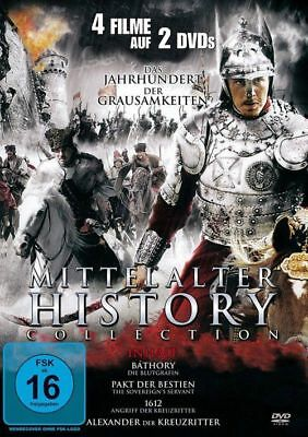 Mittelalter History Collection - 4 Filme - 2 DVD's/NEU/OVP