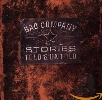 Bad Company - Stories Told & Untold - Bad Company CD NTVG The Cheap Fast Free