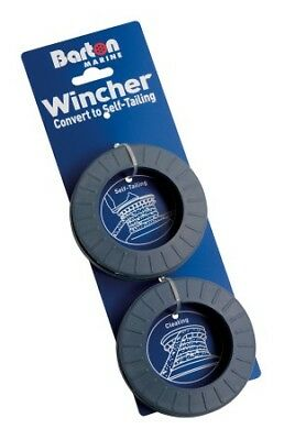BARTON Wincher Grey Rubber Size L for 12-14mm Rope