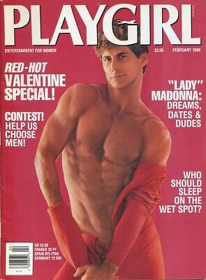 Playgirl Magazine February 1989 - Gay Interest