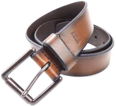 Brand New Men's LEVI'S Brown Handcrafted Premium Leather Belt. Sizes: 32'',34''