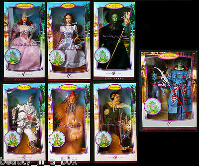Wizard of Oz Barbie Doll Winkie Guard Wicked Witch Dorothy Pink Label Lot 8 VG