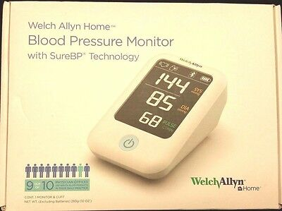 Welch Allyn Home 1700 Blood Pressure Monitor SureBP Patented Technology